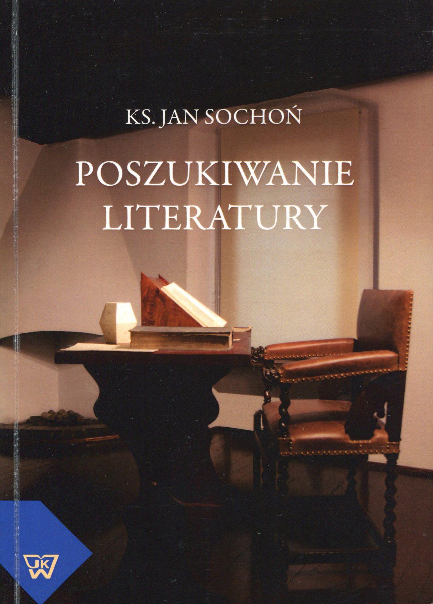 Poszukiwanie literatury - Jan Sochoń