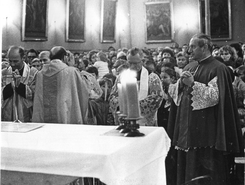 Msza Święta prymicyjna, czerwiec 1984