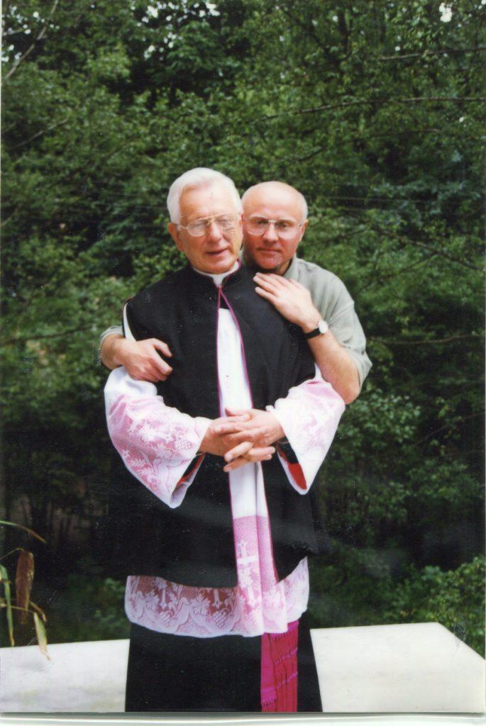 Ks. Jan z Ks. Piotrem Bożykiem